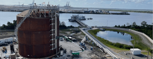 JAX LNG and TOTE Renewable LNG Bunkering